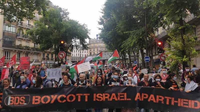 بث مباشر: تظاهرة احتجاجية بباريس ضد قرار الضم الصهيوني