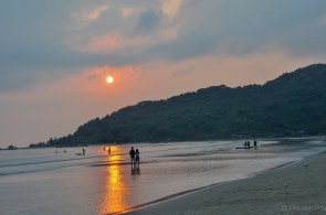 Sunset at Palolem