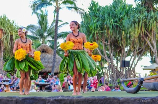 Hula at Old Lahaina luau