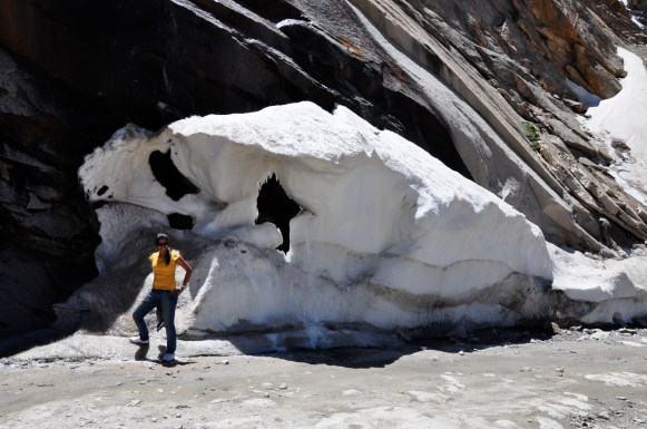 And large ice blocks