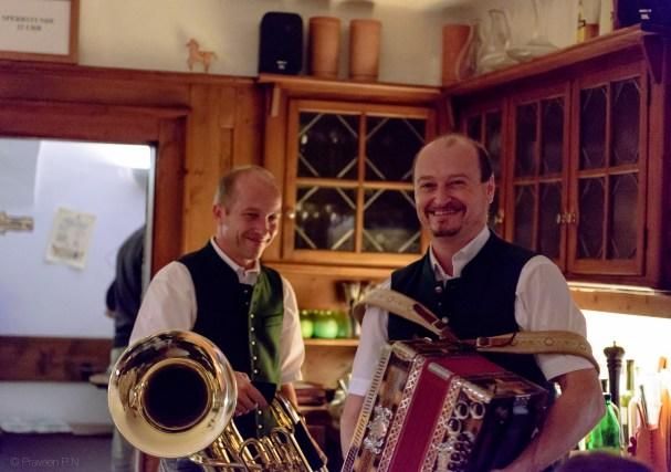 Music nite at Bärenwirt