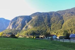 Beautiful village of Obertraun