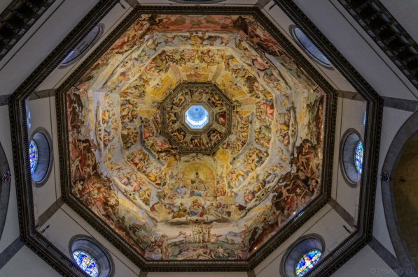 Frescos in the dome of Santa Maria del Fiore