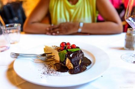Cheesecake at Trattoria 4 Leoni
