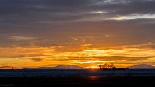 Sunrise, somewhere in Idaho