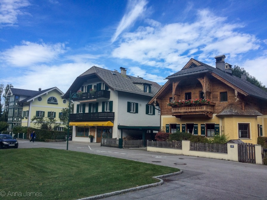 A charming village on the way to Hallstatt