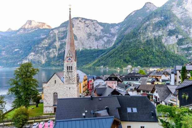 Hallstatt cathedral