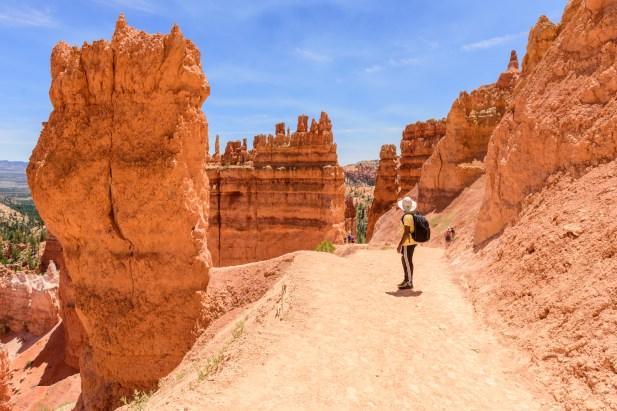 Hiking Navajo trail