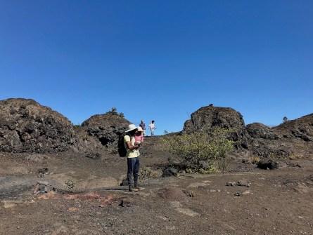 Hiking in Hawaii Volcanoes national park