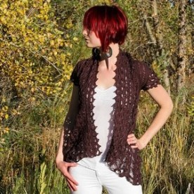Rebel lace cardie