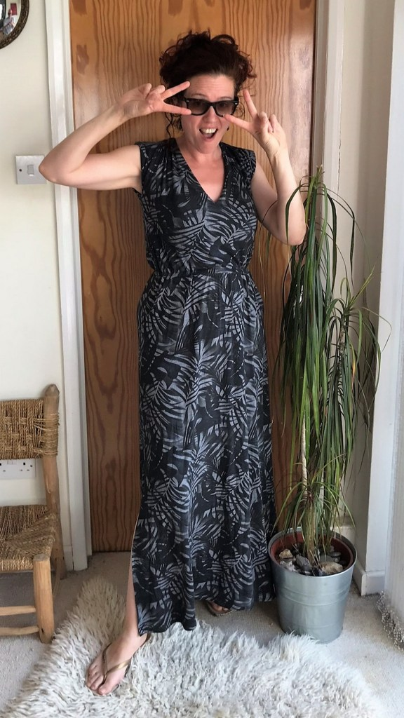 Closet Case Sallie Maxi Dress in Lady McElroy crepe jersey