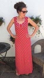 Sweetheart maxi dress 4