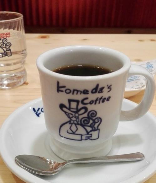 コメダ珈琲のコーヒー