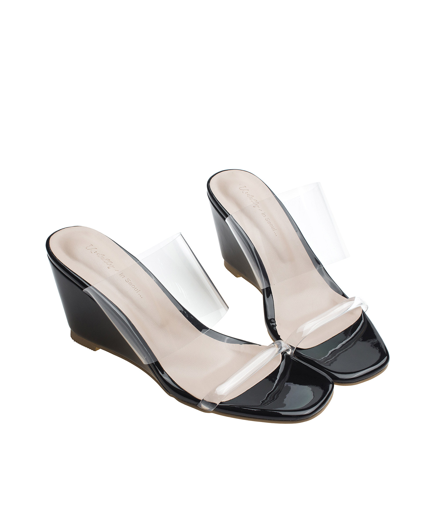 Sandals Clear 5 High Heel Color Size Wedge