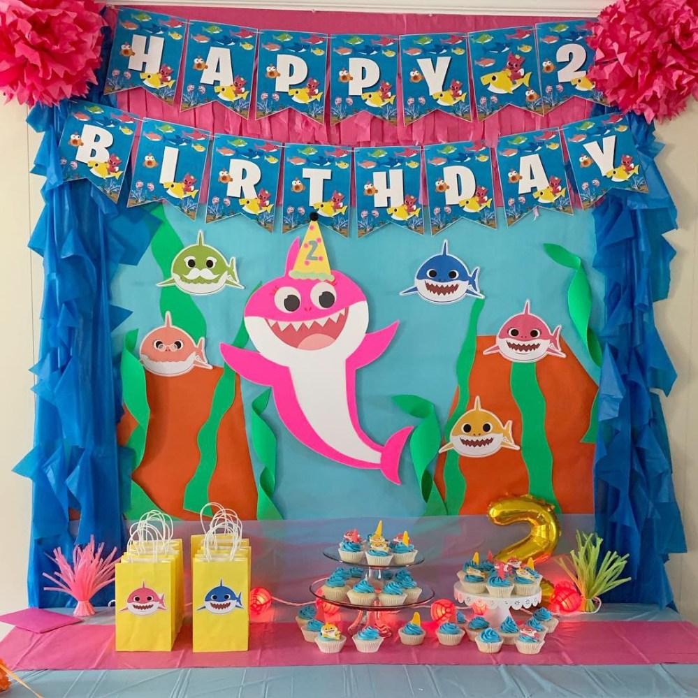 Elia S Baby Shark 2nd Birthday Turner Littles