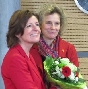 Gut besuchter Neujahrsempfang der ASF mit Malu Dreyer