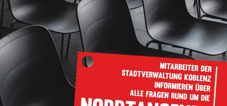"""Bürgerinnen- und Bürgerversammlung zum Thema """"Nordtangente"""""""