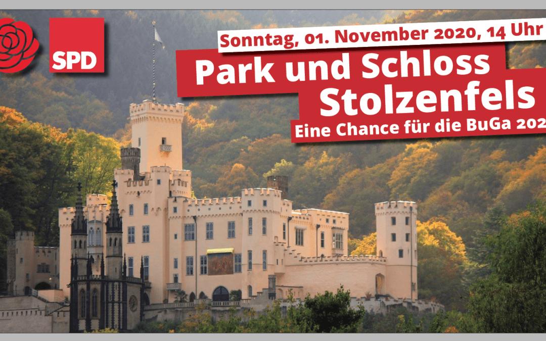 Dr. Anna Köbberling lädt zum Herbstspaziergang durch den Schlosspark und –garten von Schloss Stolzenfels