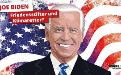 """""""Joe Biden- Friedensstifter und Klimaretter?"""" Dr. Anna Köbberling im Gespräch mit Dr. Rolf Mützenich"""