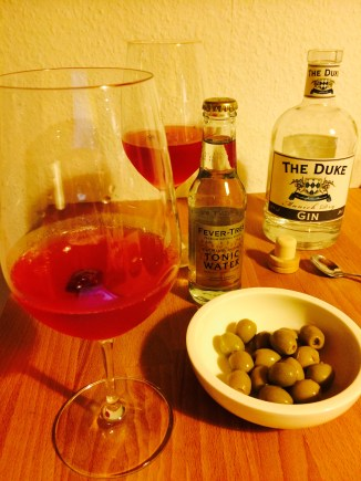 Cranberry Gin-Tonic