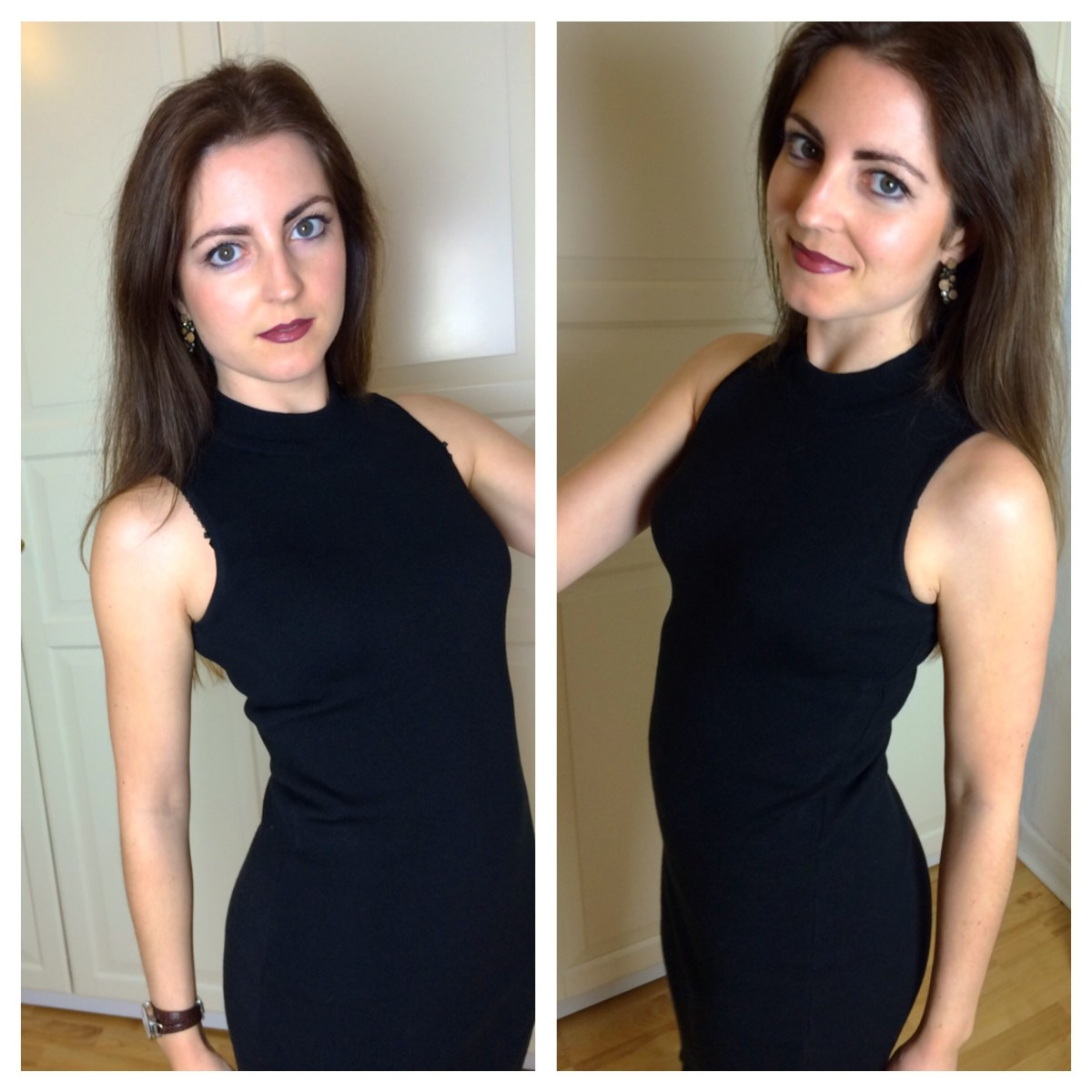 Outfit: The Black Turtleneck Dress