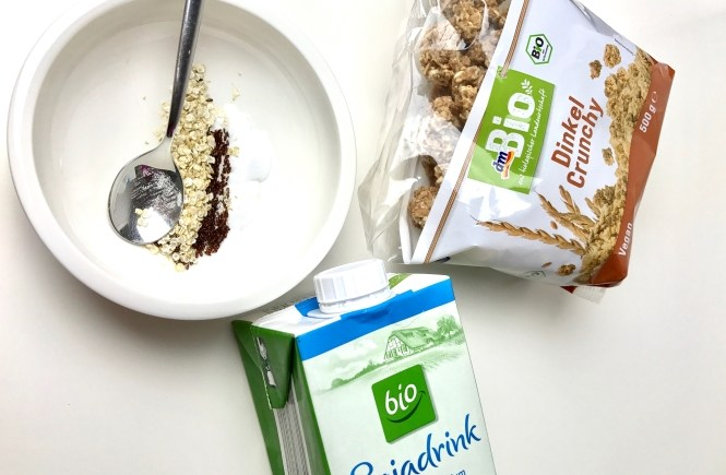 Beauty Power Muesli Fruehstueck Superfood