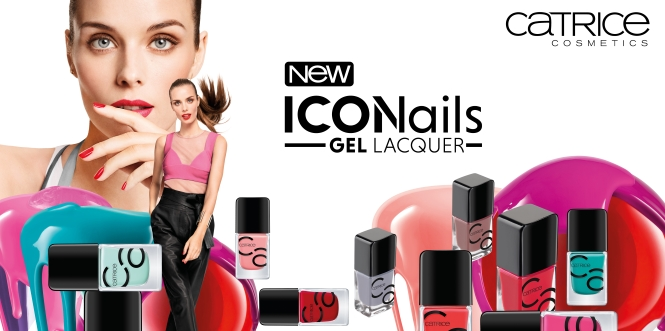 NEW IN: CATRICE ICONAILS GEL LACQUER
