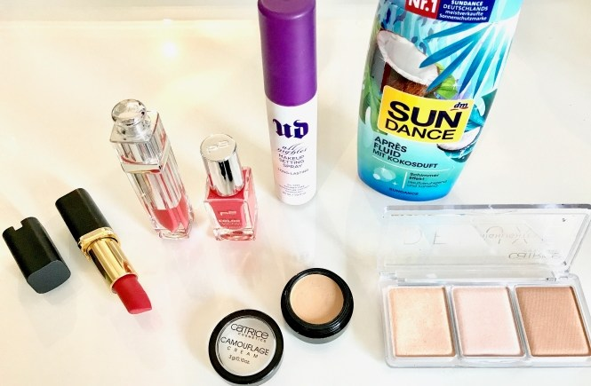 Sommer Make-up Routine