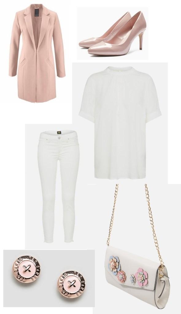 Outfit Frühling März Mantel Inspiration