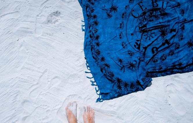Strandtasche packen Checkliste Annalena Loves Strandtuch Handtuch