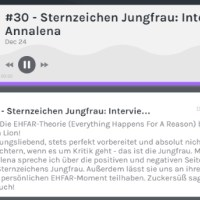 Podcast: Die EHFAR-Theorie (Everything Happens For A Reason) by Luisa Lion! Sternzeichen Jungfrau: Interview mit Annalena