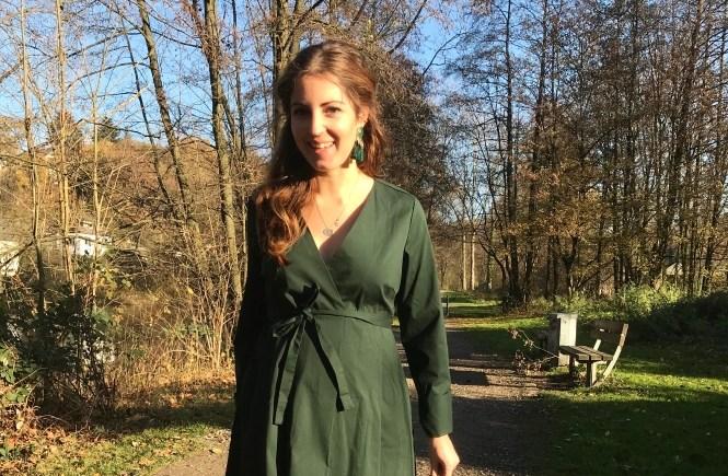 wickelkleid titelbild umstandskleid umstandsmode schwangerschaft blog mode