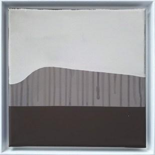 frame 2#2, 2019 - acrilico su tela - 25 x 25 cm