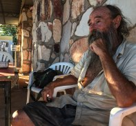 """Russel """"il barbuto"""" (foto: Anna Luciani)"""
