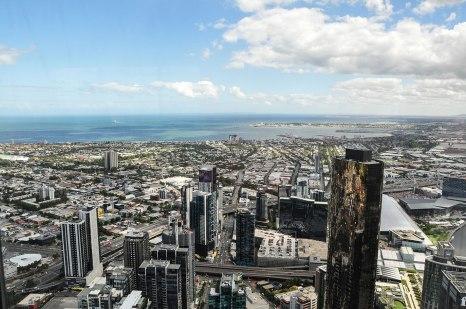 Vista della città dall'Eureka Tower (foto: Anna Luciani)