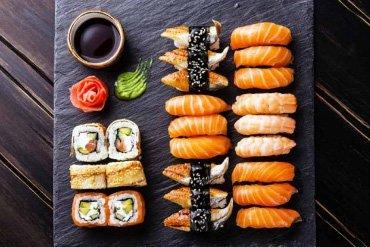 Японская кухня в ресторане Аннам Брахма в Оренбурге