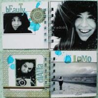 >mini album - prezent dla Katrin