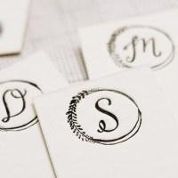 Lindsey Letters :: monogram tutorial