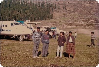 Chitwan Cultural Family - Ramsingh Lama, Suman Gajmer, Tara Bhujel, Maya Gajmer. Rolpa Libang, 1992.