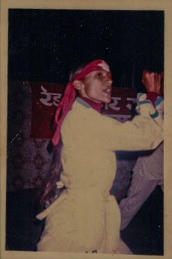 Gorkha bazaar, 1992. Sharada Shrestha.