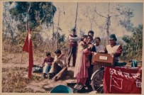 Student union cultural program in 1991 or 1992.