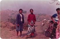 Palmo (left); Binu Sharma (right), Chitwan, 1992.