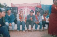 Rolpa Mirul, CPNM Cultural Wing Conference , with writer Rishi Raj Baral and members of all cultural groups.