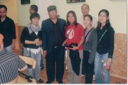 Khusiram Pakhrin and friends from the Philippines in Austria, 2009.