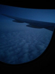 """Typical noob flight shot - """"above the clouds"""""""