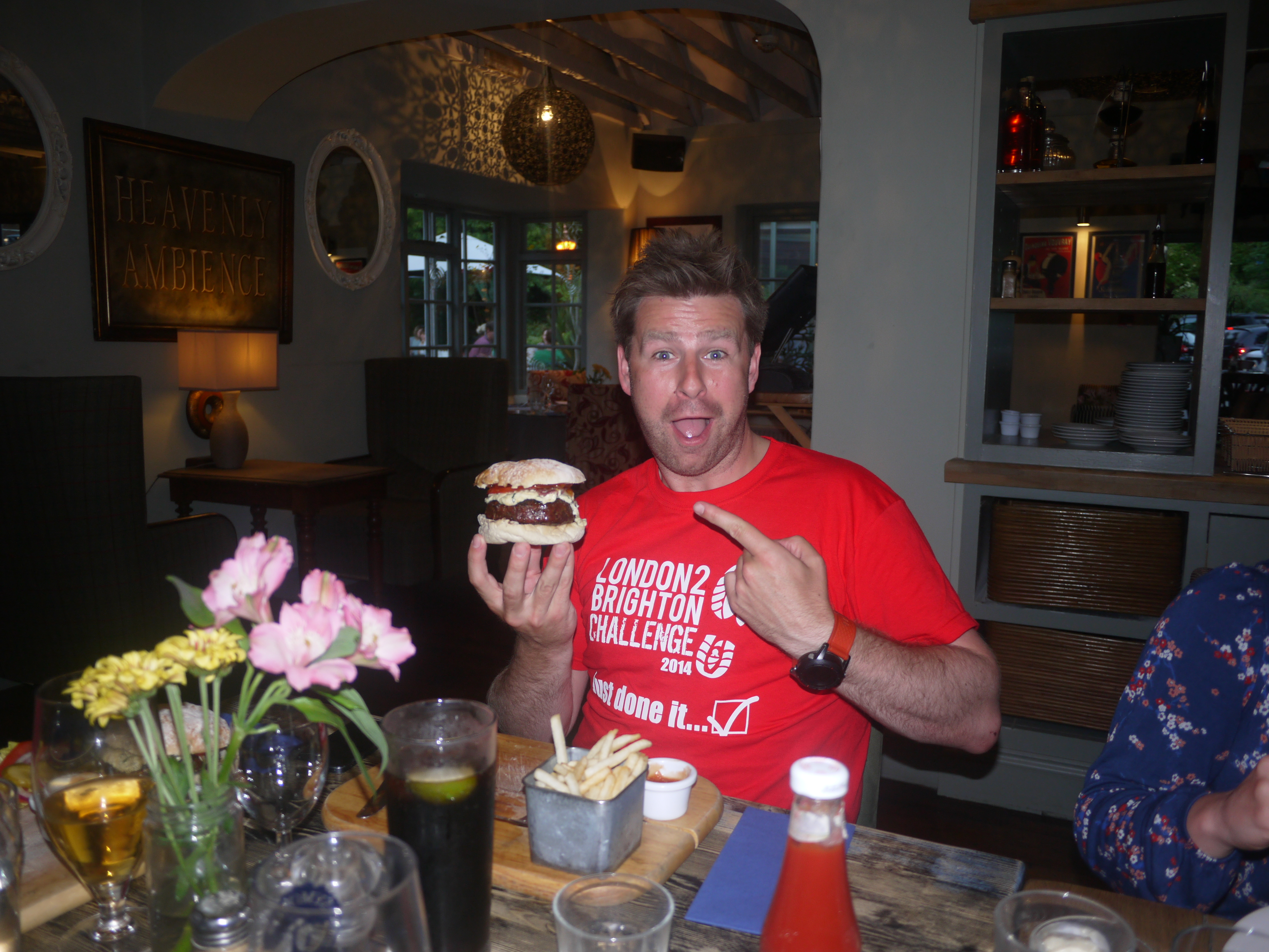 Russ - getting on the protein intake