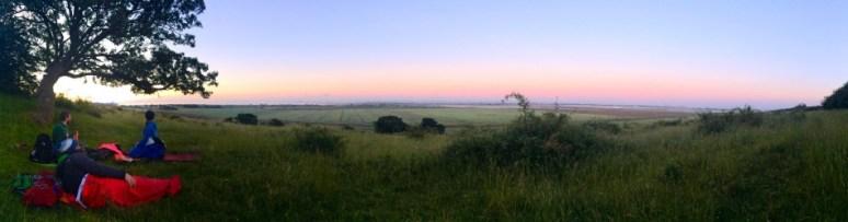 Sunrise over Essex