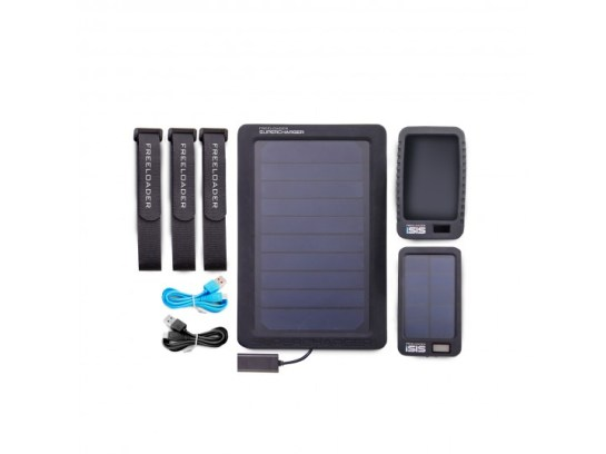 Freeloader Globetrotter solar charging system (To keep me electrified)