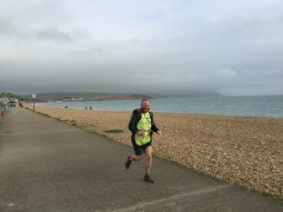 Danny tears up the Weymouth shoreline