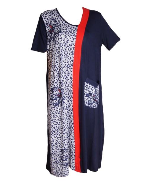 Дамска макси рокля XL 18-199-3